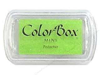 Stamping Ink Pads 2 1/2 in: ColorBox Pigment Inkpad Mini Pistachio