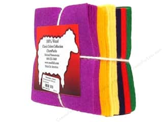 wool felt: National NW Charm Pack 100% WoolFelt Classic