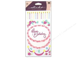 EK Sticko Stickers Decorate Your Cake 1