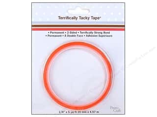 Provo TerrificallyTackyTape 1/4&quot;x 5 yards
