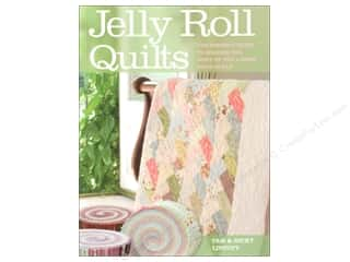 Quilted Trillium, The Fat Quarter / Jelly Roll / Charm / Cake Patterns: David & Charles Jelly Roll Quilts Book