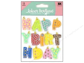 Clearance Blumenthal Favorite Findings: Jolee's Boutique Stickers Happy Birthday Word