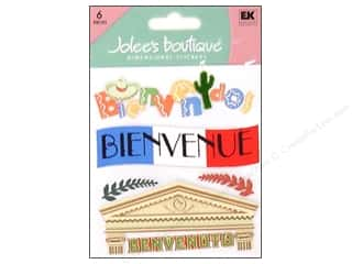 Jolee's Boutique Stickers Welcome