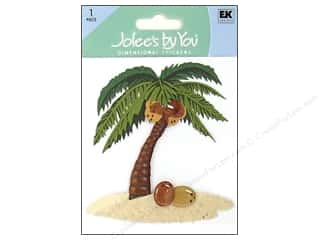EK Success Vacations: Jolee's By You Stickers Palm Tree