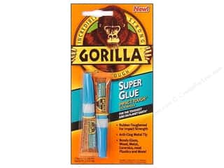 super glue: Gorilla Glue Super Glue Card .21 oz 2 pc