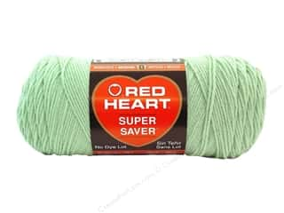 Red Heart Super Saver Yarn #0668 Honeydew 7 oz.