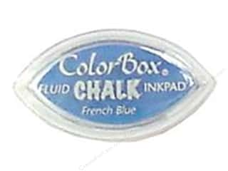 Chalk $2 - $4: ColorBox Fluid Chalk Inkpad Cat's Eye French Blue