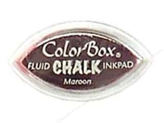 Clearance Art Institute Glitter 1oz Glass Shards: ColorBox Fluid Chalk Inkpad Cat's Eye Maroon