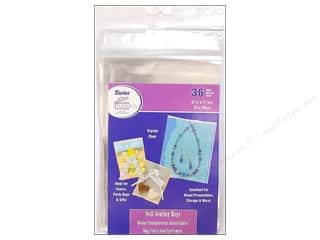 "Darice $4 - $5: Darice Empty Storage Bags Tool Box Self Seal 5.25""x 7.25"" 36pc"