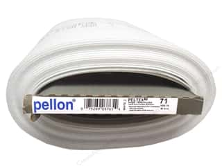 "Iron-On Interfacing / Iron-On Stabilizer: Pellon Fusible Peltex I One Side Ultra Firm 20"" W (10 yards)"