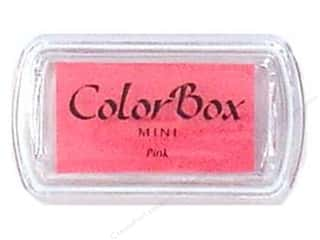 Stamping Ink Pads 2 1/2 in: ColorBox Pigment Inkpad Mini Pink