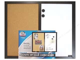 Erasers Black: The Board Dudes Dry Erase Boards Cork/Magnetic Combo 22 x 18 in.