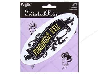 Wrights Iron On Appliques Twisted Princess Evil