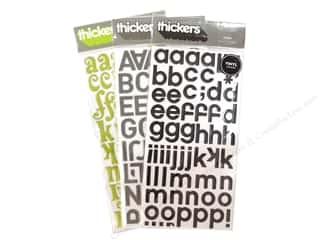 American Crafts Thickers Stickers