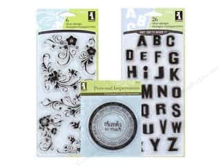 Clearance Blumenthal Favorite Findings: Inkadinkado Clear Stamps, SALE $0.69-$8.99.