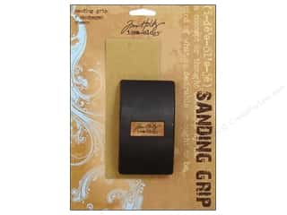 Sanders / Sandpaper: Tim Holtz Idea-ology Tools Sanding Grip Block