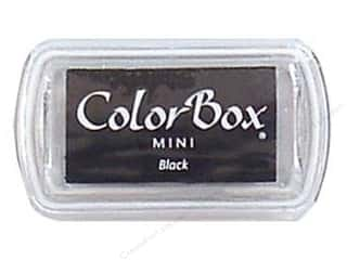 Stamping Ink Pads 2 1/2 in: ColorBox Pigment Inkpad Mini Black