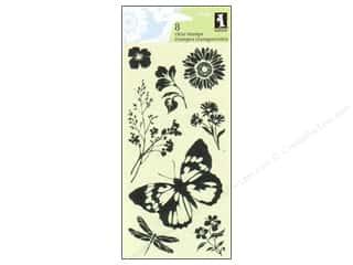 Inkadinkado Clear Stamp Garden Delight