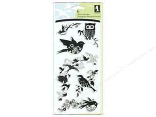 Inkadinkado InkadinkaClings Clear Stamp Birds Galore