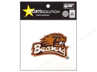 Tote Bag Brown: Sports Solution Sticky Patch Oregon State
