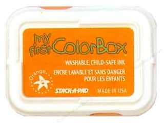 ColorBox Ink, Ink Pads & Brayers: My First ColorBox Dye Ink Pad Orange