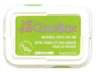 Kids Crafts Spring Cleaning Sale: My First ColorBox Dye Ink Pad Light Green