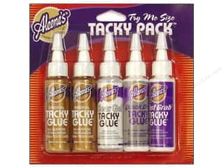 Aleene's Clear: Aleene's Tacky Pack 5 pc. Clear Gel/Quick Dry/Original/Fast Grab