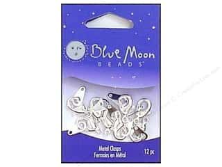 Clasps: Blue Moon Clasps Lobster Large Silver Tag 12pc