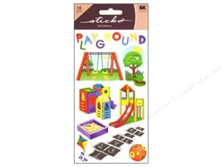 Children inches: EK Sticko Stickers Playground