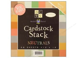 DieCuts Cardstock Stack 12x12 Match Makers Neut