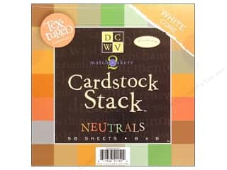 DieCuts Cardstock Stack 8x8 Match Makers Neutral
