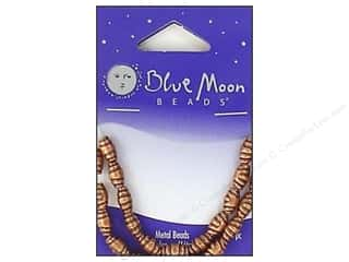 Blue Moon Beads Metal Oval Rolled Copper 24pc