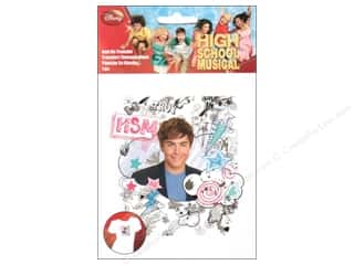 Tote Bag Captions: Wrights Iron On Transfers Disney High School Musical Troy