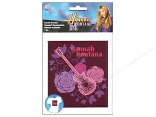 Wrights Iron On Trnsfr Disney Hannah MontanaGutr