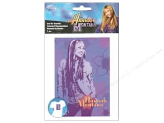 Wrights Iron On Trnsfr Disney Hannah MontanaPose