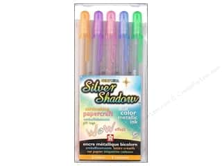 Clearance Art Institute Glitter 1oz Glass Shards: Sakura Gelly Roll Pen Shadow Set 5pc