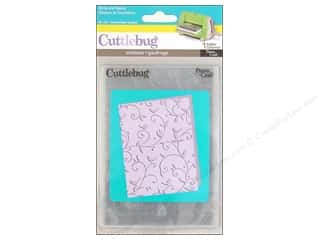 Embossing Aids $9 - $12: Provo Cuttlebug Emboss A2 Birds & Swirls