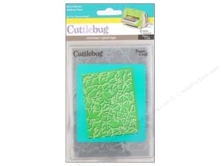 Provo Cuttlebug Emboss A2 Floral Screen