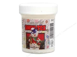 Finishes: DecoArt Snow-Tex Hard Jar 2oz