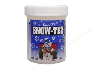 Holiday Sale DecoArt Snow-Tex: DecoArt Snow-Tex Hard Jar 4oz