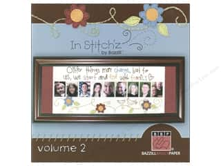 paper craft books: Bazzill In Stitch'z Idea Book Volume 2