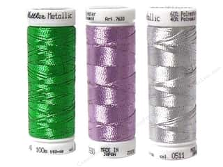 Metallic thread: Mettler PolySheen Embr Thread  Sz40 200M Met