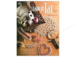 needlework book: Learn To Tat DVD &amp; Book
