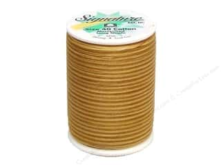Signature Thread Signature 100% Cotton Quilting Thread 500yd Var: Signature 100% Cotton Thread 500 yd. #M75 Variegated Tan Tints