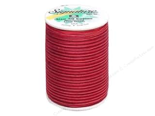 Signature Thread Signature 100% Cotton Quilting Thread 500yd Var: Signature 100% Cotton Thread 500 yd. #M79 Variegated Raspberries