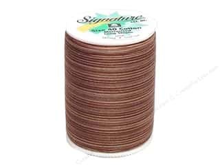 Signature 100% Cotton Thread 500 yd. Varigated Dusty Mauve
