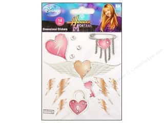Wing And A Prayer Design: EK Disney Sticker 3D Hannah Montana Heart & Wings