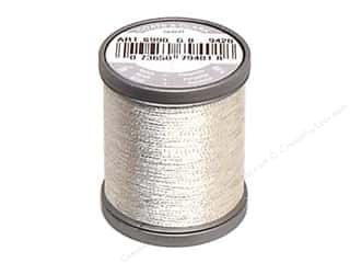 Threads Metallic Thread: Coats Metallic Thread 125 yd. Silver
