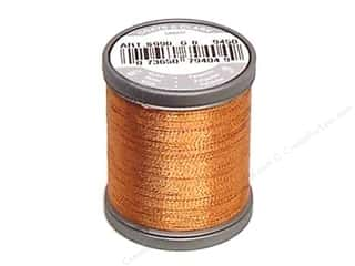 Threads Metallic Thread: Coats Metallic Thread 125 yd. Copper