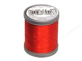 Threads Metallic Thread: Coats Metallic Thread 125 yd. Ruby